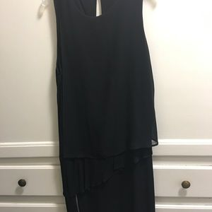 Sandro Black Cocktail Dress sz 2
